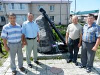Памятник морякам в с. Батырево. Фото Л. Васильева.