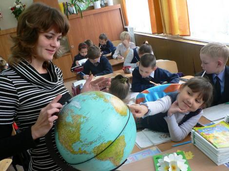 1 сентября урок в школе в классе