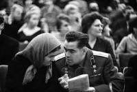Андриян Николаев с матерью