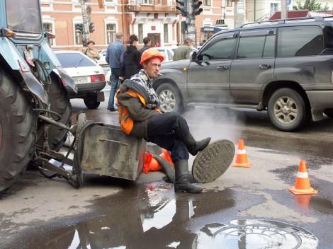 канализация жкх рабочий ремонт