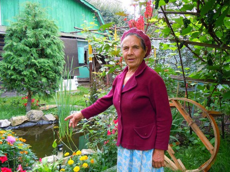 В доме на набережной Волги Елизавета Сергеевна живет более сорока лет