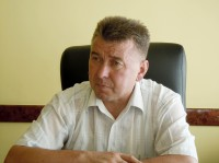 Глава администрации г. Канаш Родион Мясников. Фото Л. Васильева
