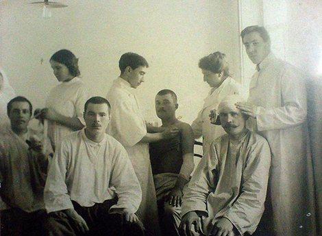 После ранения. Екатеринбург, 1919 г.