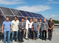 электростанция на солнечных панелях в ЧГУ