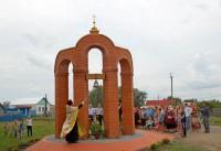 Памятник павшим в Великой Отечественной войне сельчанам в деревне Сендимиркино Вурнарского района