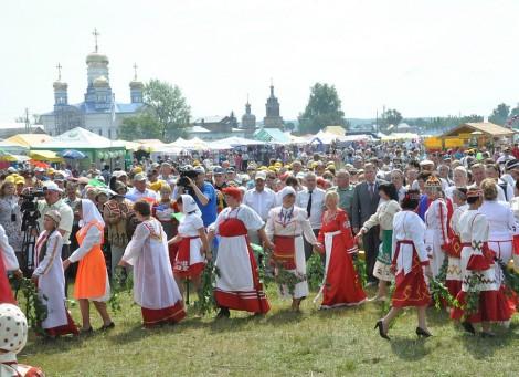 Тихвинская ярмарка. Фото О. Мальцева