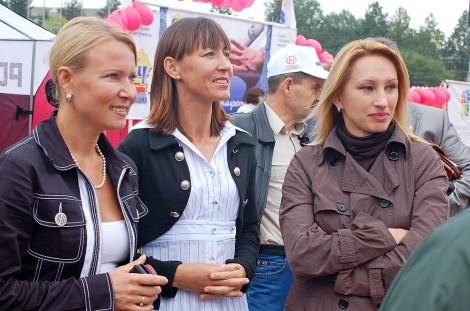Олимпиада Иванова, Алина Иванова, Ольга Егорова.
