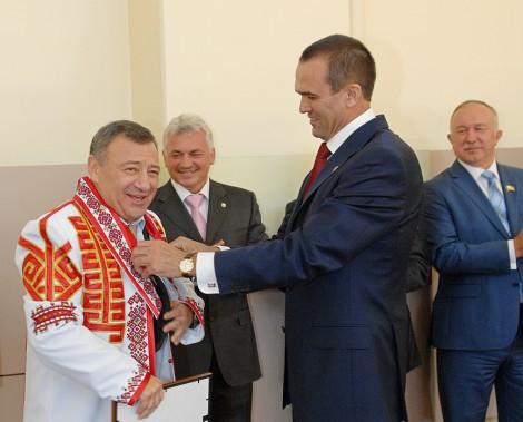 Михаил Игнатьев и Аркадий Ротенберг