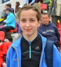 Двукратная чемпионка мира по бегу на спринтерские дистанции среди спортсменов с поражением опорно-двигательного аппарата Елена Иванова.