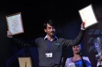 Рамиль Азимов, обладатель приза за лучшую мужскую роль V Чебоксарского международного кинофестиваля.