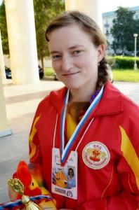 Тяжелоатлетка Вера Николаева