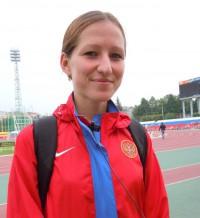 Легкоатлетка Марина Петрова. Фото А. Егорова.