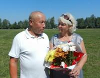 Первый тренер Тани, Юрий Архипов с женой Галиной.