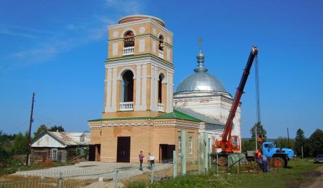 Церковь Успения Божией Матери в селе Чурачики Цивильского района.