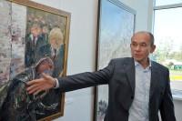 Выставка живописи художника Станислава Воронова. Фото www.cap.ru
