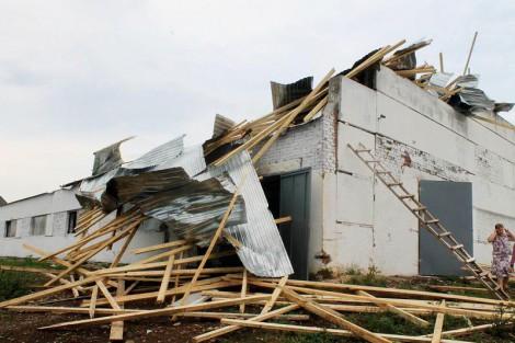 Ураган в Марпосадском районе. Фото cap.ru