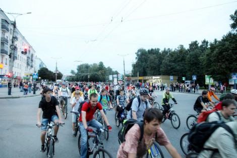 Велопробег в Чебоксарах