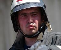 Майор внутренней службы Алексей Салмин.