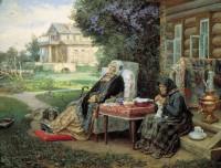 """В. Максимов. """"Все в прошлом"""". 1889 г."""