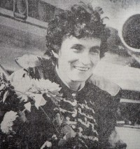 Чемпионка ХХV Олимпийских игр Валентина Егорова