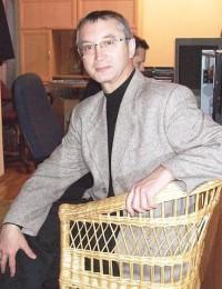 Писатель Валерий Петровский.