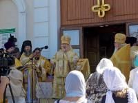 Праздничный молебен в честь Дня памяти святых Петра и Февронии Муромских