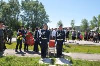 Перезахоронение солдата Петра Тинюкова