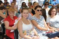 Модный фестиваль «Беременная красавица». Фото cap.ru